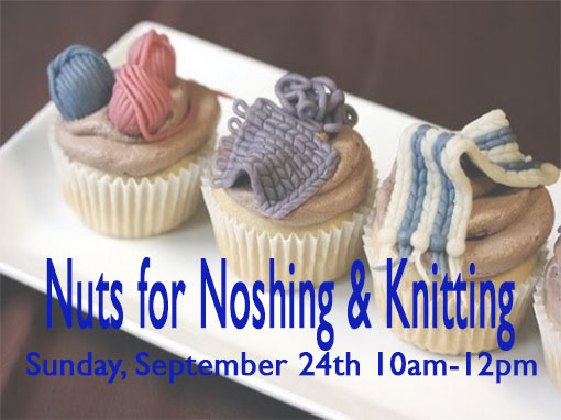 Nuts for Knitting & Noshing