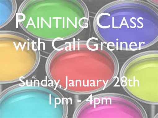 Painting Class with Cali Greiner